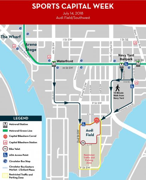 Street Closures For Mlb All Star Week Sportscapital